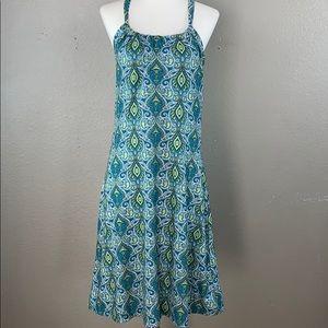 prAna breathe geometric print tank dress